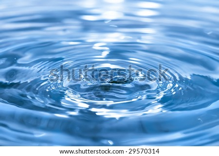 water background - stock photo