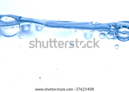 Water bubble - stock photo