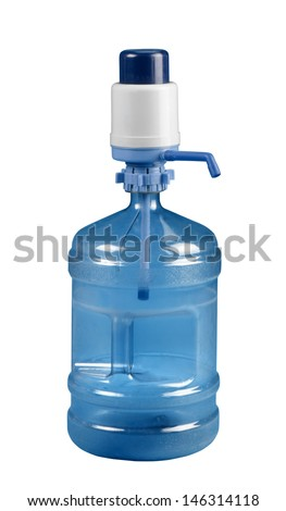 water canister - stock photo