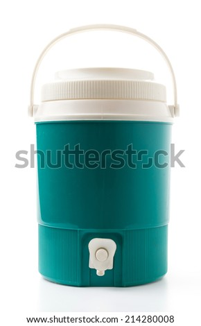 water canteen - stock photo