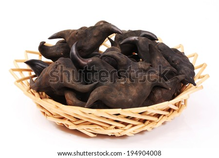 Water chestnut  - stock photo
