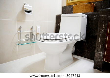water closet - stock photo