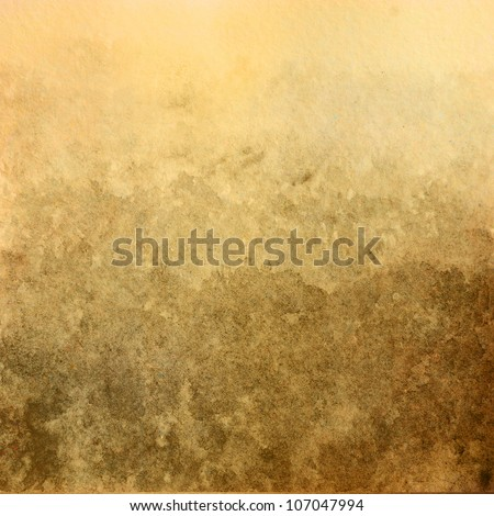 Water color on old paper texture background - stock photo