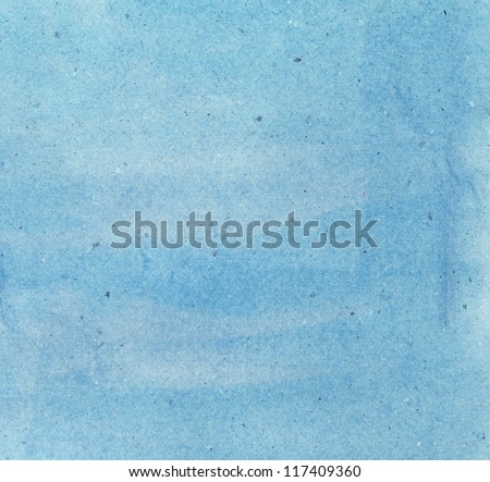water color on recycle paper texture background - stock photo