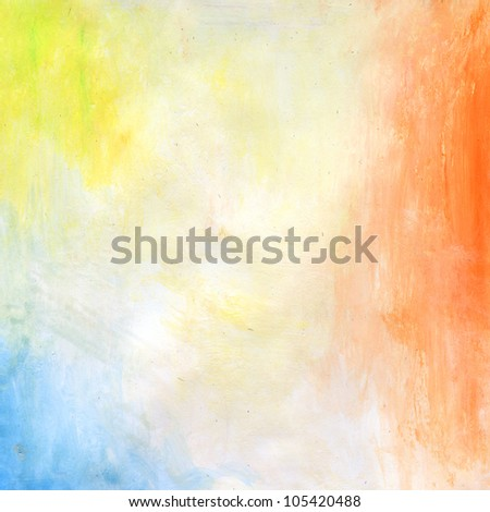 Water Color Paint Paper Texture Background Scrapbooking - stock photo
