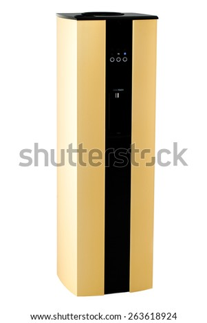 Water cooling machine - stock photo