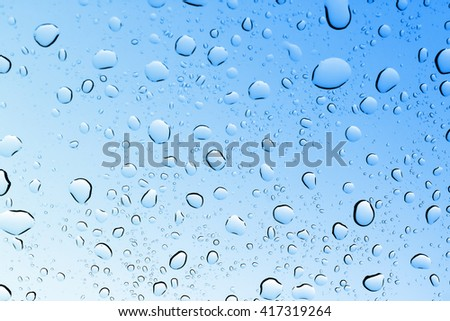 water drops background