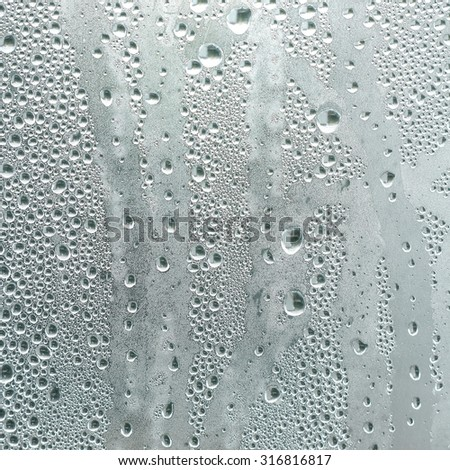 water drops, condensate