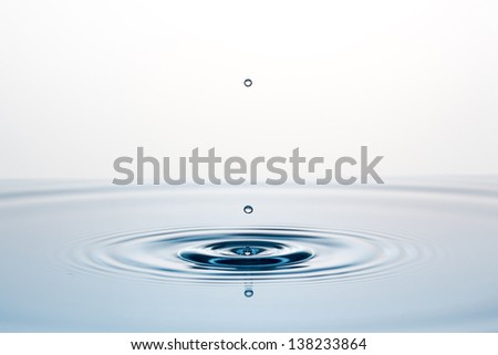 water-drops/macro - stock photo