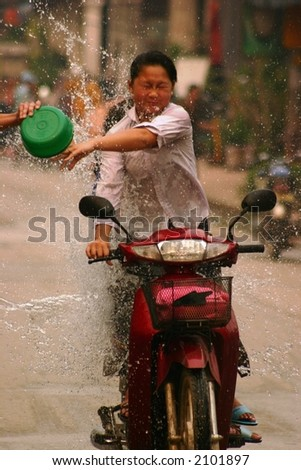 Water Festival, New Year, Laos