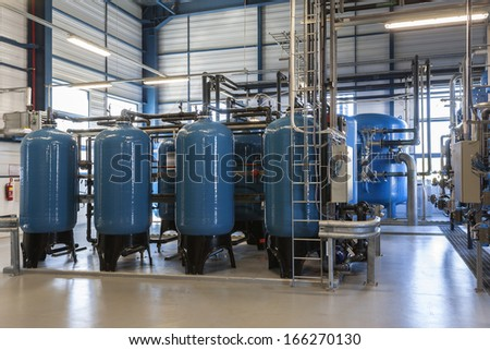 Water filters - stock photo