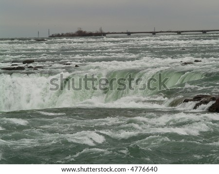 water flow at Niagara