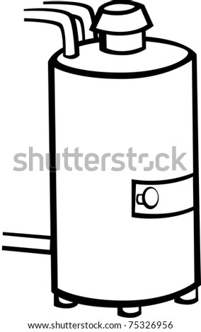 water heater - stock photo