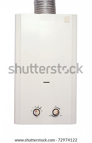 Water heater gas - stock photo