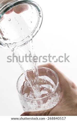 Water, I pour