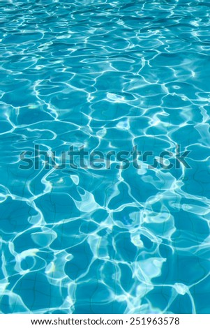 Water in the pool background. - stock photo