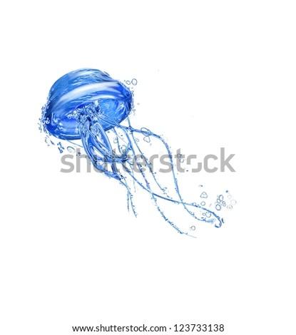 Water Jellyfish - stock photo