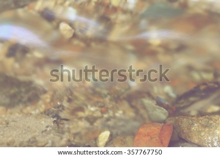 Water moving abstraction - stock photo