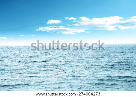 water of sea