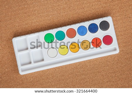Water Paints - stock photo