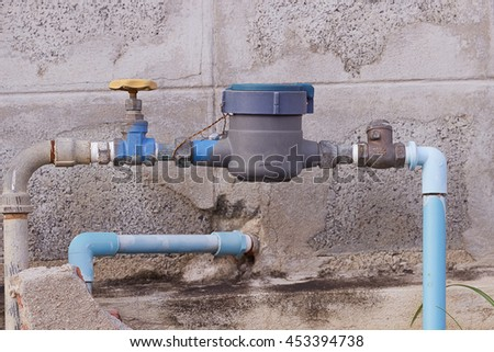 water meter house stock images royalty free images