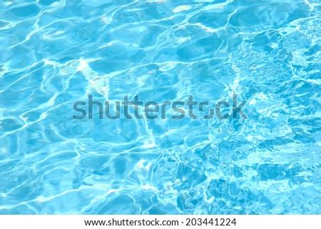 Water pool - stock photo