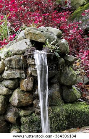 water source - stock photo