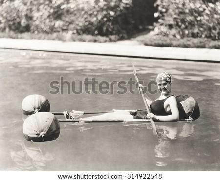 Water sports - stock photo