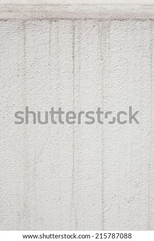 water stain on wall
