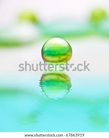 Water stones - stock photo
