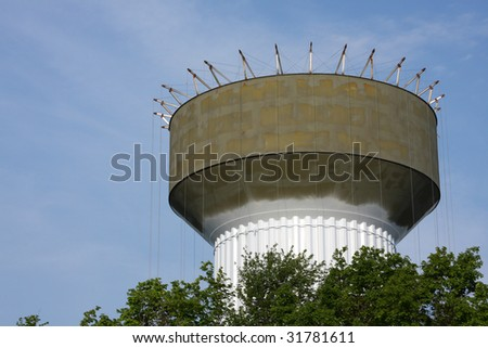 Water Storage Tower under Construction