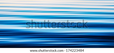 Water surface motion blur background