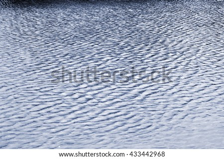 Water surface of the sea, Background. - stock photo