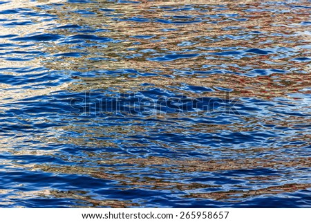 water surface, reflection, symbol, lik for purity, eternity, mystery,