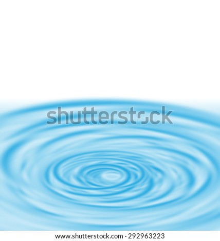 Water Twirl Funnel Blue Abstract Background - raster