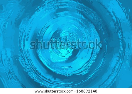 WATER WAVE BACKGROUND - stock photo