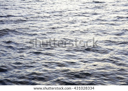 Water Waves Surface as Background