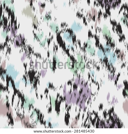 watercolor abstract painted seamless pattern - stock photo