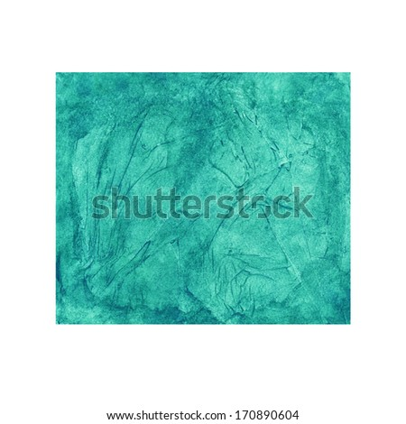 Watercolor azure background - illustration