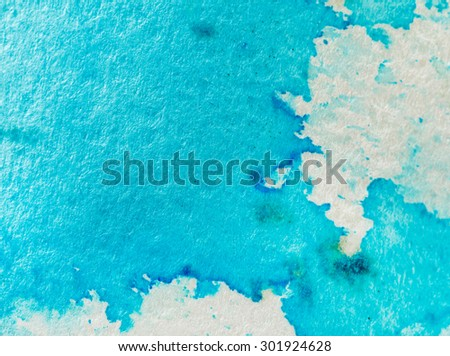 watercolor background - stock photo