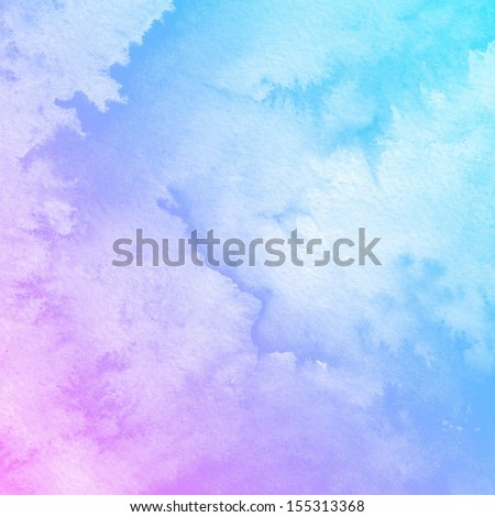 Watercolor Background. Abstract art painting texture