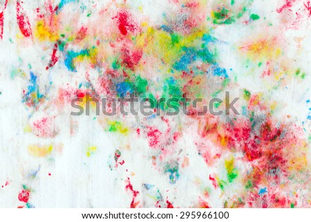 Watercolor background for textures and backgrounds - stock photo