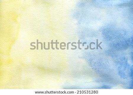 watercolor background gradient - stock photo