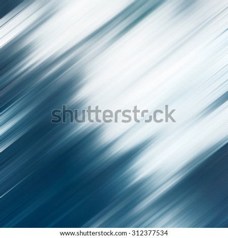 watercolor blue flow background texture abstract speed lines pattern white copy space for text - stock photo