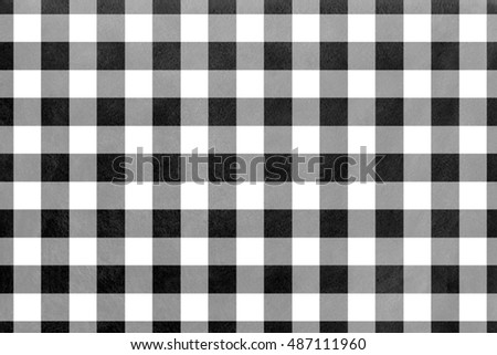 Watercolor checked pattern. Geometrical traditional ornament for fashion textile, cloth, backgrounds.