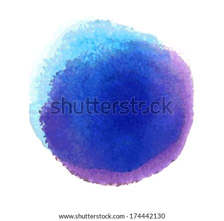 Watercolor design - stock photo