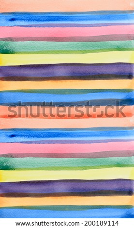 watercolor line draw background