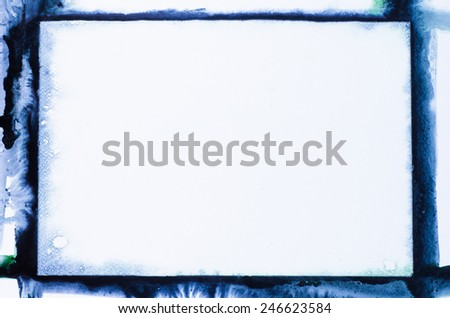 Watercolor painting background texture - stock photo