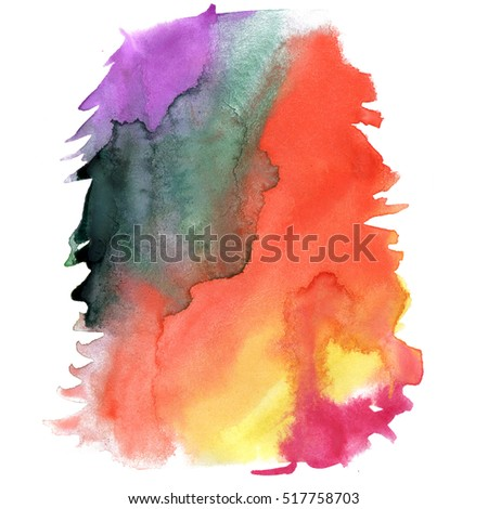 watercolor red purple black textured backdrop, abstract watercolor hand paint texture, isolated on white background, watercolor drop
