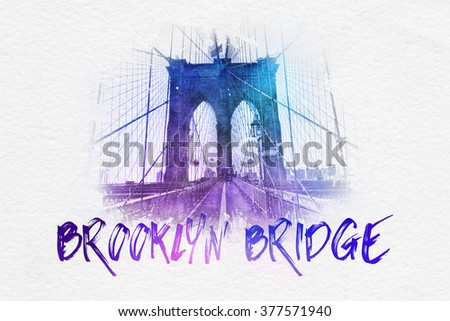 descriptive essay brooklyn bridge Examine the ideas of manliness, hostility and aggression in a view from the bridge in this essay i am going to be examining the ideas of manliness, hostility and aggression in a view from the bridge a play by arthur miller i will be looking at how these ideas are connected eddie carbone, the.